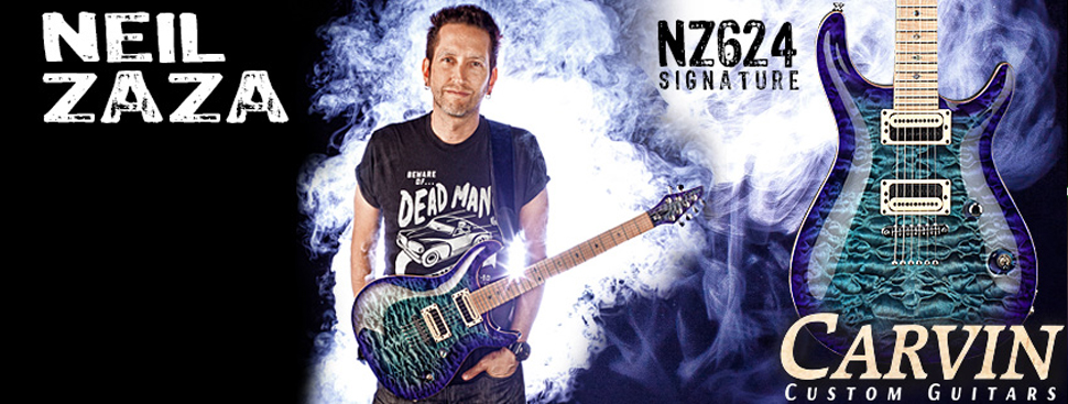 The Neil Zaza Carvin Signature Guitar
