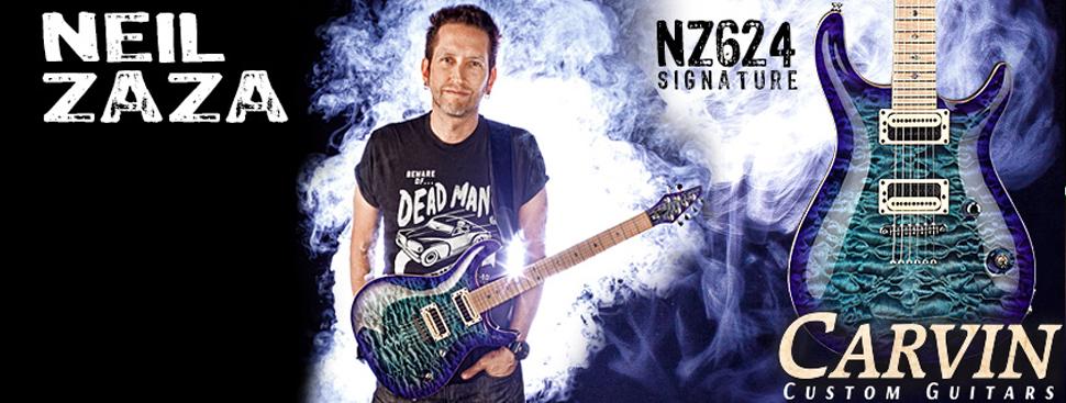 The Neil Zaza Carvin Signature Guitar